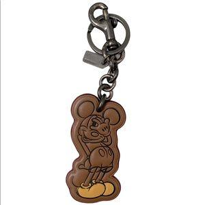 Coach x Disney Mickey Mouse Keychain